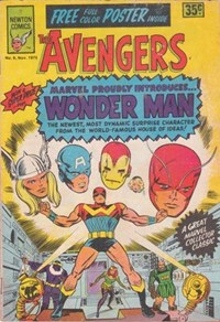 The Avengers (Newton, 1975 series) #9 — Marvel Proudly Introduces... Wonder Man