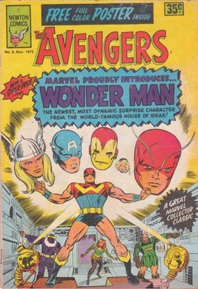 The Avengers (Newton, 1975 series) #9 ([November 1975?])