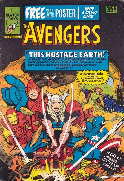 The Avengers (Newton, 1975 series) #11 ([November 1975?])