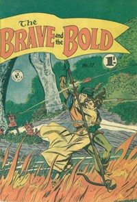 The Brave and the Bold (Colour Comics, 1956 series) #17 ([June 1957?])