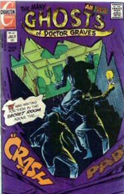 The Many Ghosts of Dr. Graves (Charlton, 1967 series) #40 (July 1973)