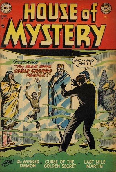 House of Mystery (DC, 1951 series) #15 (June 1953)