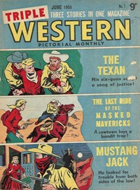 Triple Western Pictorial Monthly (Red Circle, 1955 series)