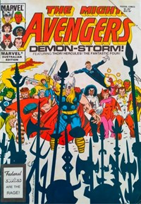 The Mighty Avengers (Federal, 1985 series) #6 ([June 1986?])