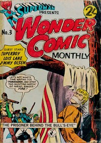 Superman Presents Wonder Comic Monthly (Colour Comics, 1965 series) #3 — The Prisoner Behind the Bull's-Eye