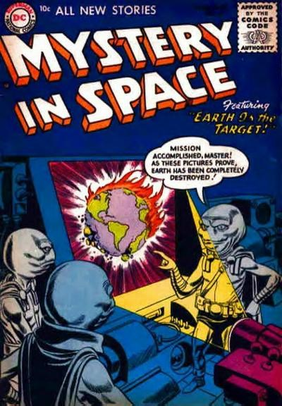 Mystery in Space (DC, 1951 series) #26 (June-July 1955)