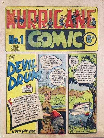 Hurricane Comic (OPC, 1946 series) #1 [C29] (November 1946) ([November 1946?])