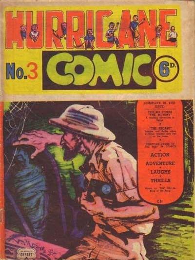 Hurricane Comic (OPC, 1946 series) #3 [C31] (January 1947) ([January 1947?])