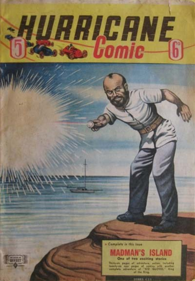 Hurricane Comic (OPC, 1946 series) #5 [C33] (March 1947) ([March 1947?])