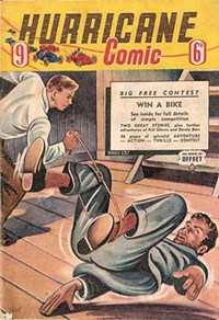 Hurricane Comic (OPC, 1946 series) #9 [C37] (July 1947) — Untitled