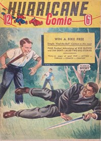 Hurricane Comic (OPC, 1946 series) #12 [C40] (October 1947)
