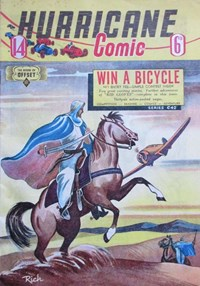 Hurricane Comic (OPC, 1946 series) #14 [C42] (December 1947)