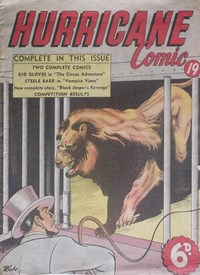 Hurricane Comic (OPC, 1946 series) #19 [C47] (May 1948)
