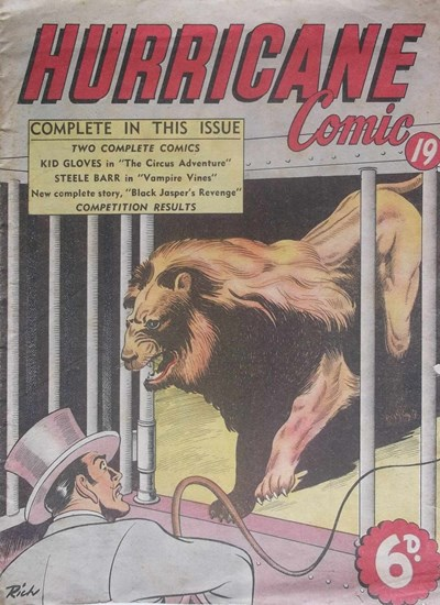 Hurricane Comic (OPC, 1946 series) #19 [C47] (May 1948) (May 1948)