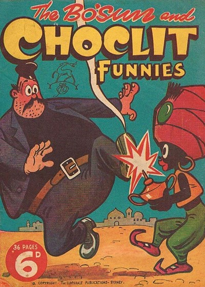 The Bosun and Choclit Funnies (Elmsdale Publications, 1946 series) #3 ([1946?])