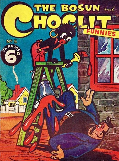 The Bosun and Choclit Funnies (Elmsdale Publications, 1946 series) #5 ([1946?])