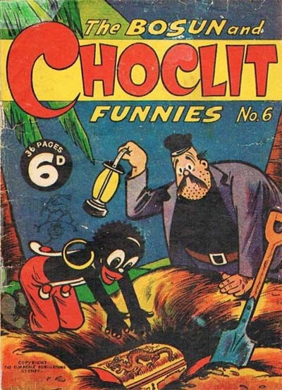 The Bosun and Choclit Funnies (Elmsdale Publications, 1946 series) #6 ([1946?])
