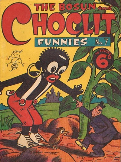 The Bosun and Choclit Funnies (Elmsdale Publications, 1946 series) #7 ([1946?])
