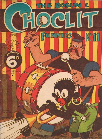 The Bosun and Choclit Funnies (Elmsdale Publications, 1946 series) #11 ([1947?])