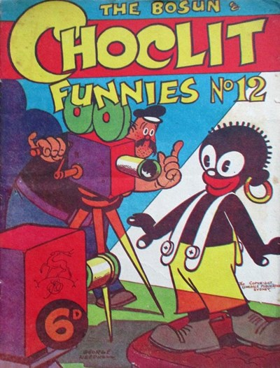 The Bosun and Choclit Funnies (Elmsdale Publications, 1946 series) #12 ([1947?])