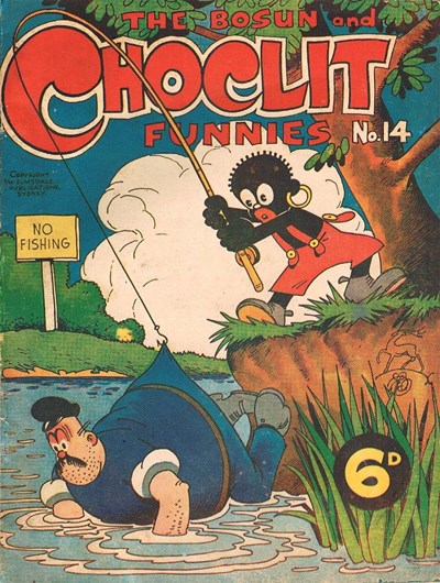 The Bosun and Choclit Funnies (Elmsdale Publications, 1946 series) #14 ([1947?])