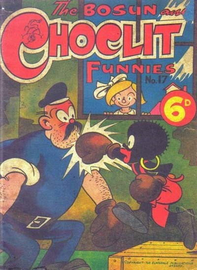 The Bosun and Choclit Funnies (Elmsdale Publications, 1946 series) #17 ([1947?])