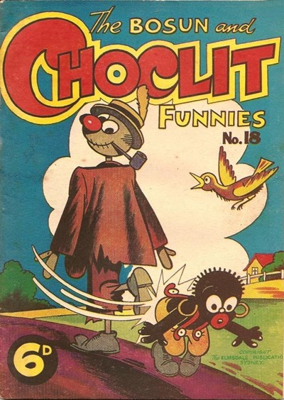 The Bosun and Choclit Funnies (Elmsdale Publications, 1946 series) #18 ([1947?])