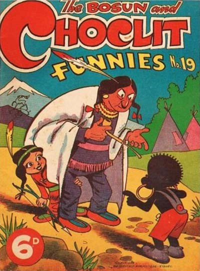 The Bosun and Choclit Funnies (Elmsdale Publications, 1946 series) #19 ([1947?])