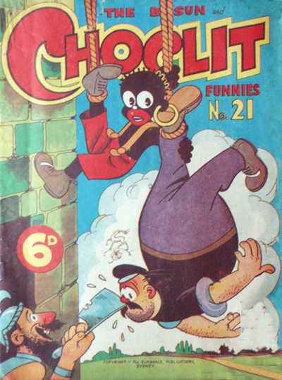 The Bosun and Choclit Funnies (Elmsdale Publications, 1946 series) #21 ([1948?])
