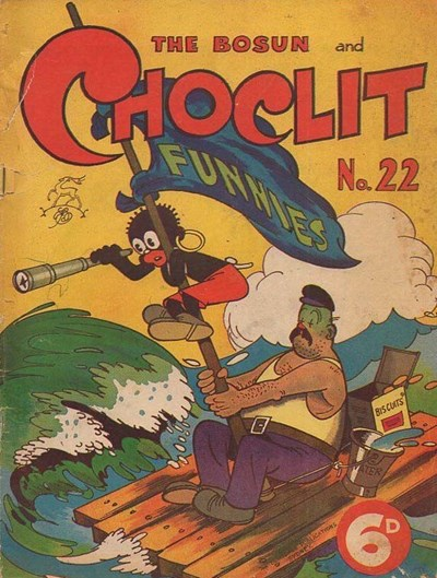 The Bosun and Choclit Funnies (Elmsdale Publications, 1946 series) #22 ([1948?])