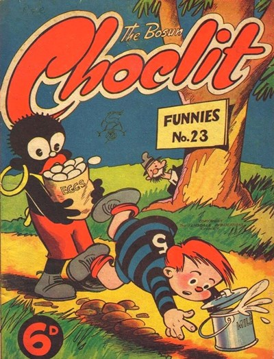 The Bosun and Choclit Funnies (Elmsdale Publications, 1946 series) #23 ([1948?])