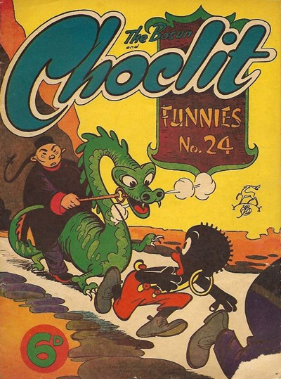 The Bosun and Choclit Funnies (Elmsdale Publications, 1946 series) #24 ([1948?])