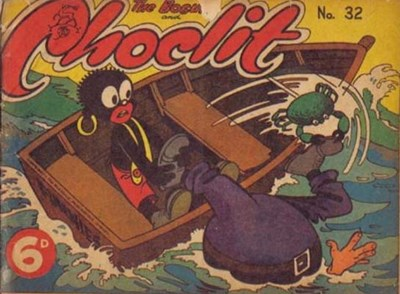 The Bosun and Choclit Funnies (Elmsdale Publications, 1946 series) #32 ([1949?])
