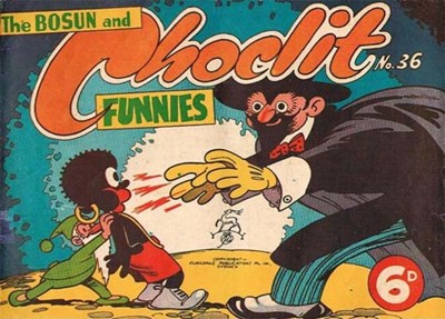 The Bosun and Choclit Funnies (Elmsdale Publications, 1946 series) #36 ([1949?])