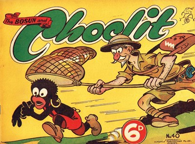 The Bosun and Choclit Funnies (Elmsdale Publications, 1946 series) #40 ([1949?])