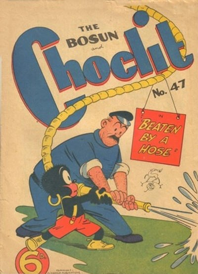 The Bosun and Choclit Funnies (Elmsdale Publications, 1946 series) #47 ([1950?])