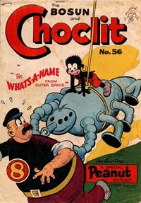 The Bosun and Choclit Funnies (Elmsdale Publications, 1946 series) #56 — Untitled