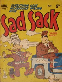 Sad Sack (Approved, 1955 series) #5 (August 1955)