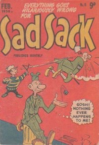 Sad Sack (Approved, 1955 series) #11 (February 1956)