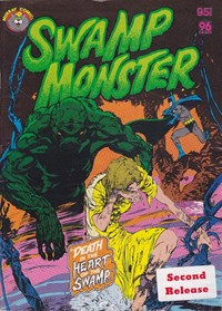 Swamp Monster (Murray, 1980?) #Second Release — Death in the Heart of the Swamp…