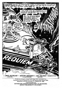 Swamp Monster (Murray, 1980?) #Second Release — Requiem (page 1)
