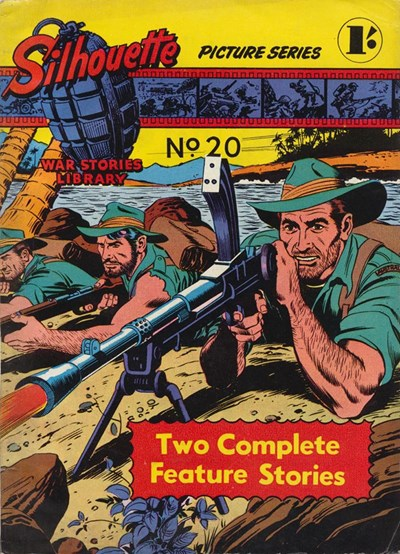 Silhouette War Stories Library (Reigate, 1961 series) #20 (December 1962)