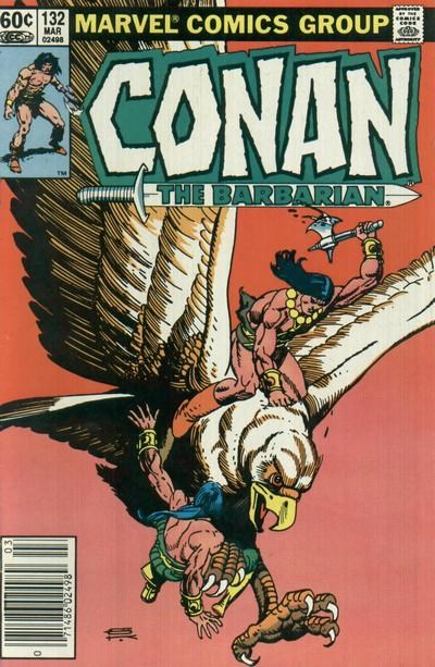 Conan the Barbarian (Marvel, 1970 series) #132 (March 1982)