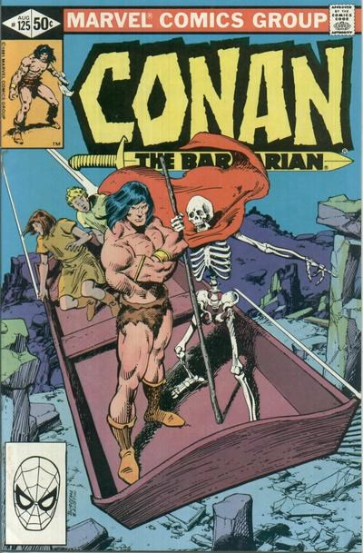 Conan the Barbarian (Marvel, 1970 series) #125 (August 1981)