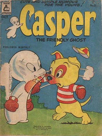 Casper the Friendly Ghost (ANL, 1955 series) #21 (October 1956)
