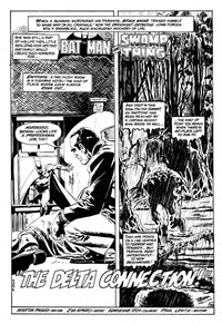 Swamp Monster (Murray, 1980?) #Second Release — The Delta Connection! (page 1)