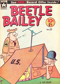 Beetle Bailey (Yaffa/Page, 1965? series) #22 — Untitled