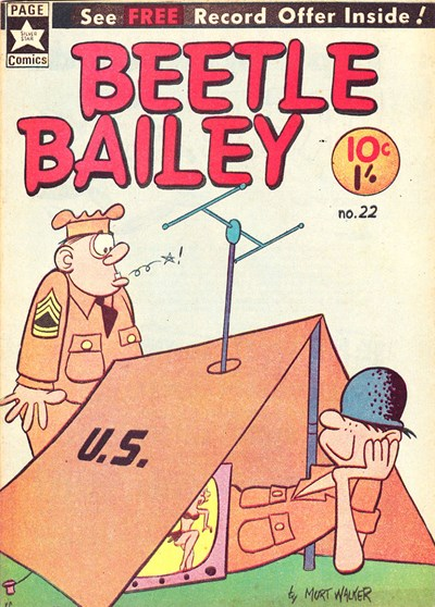 Beetle Bailey (Yaffa/Page, 1965? series) #22 ([March 1966?])