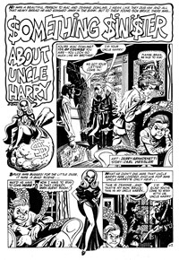 The Witching Hour (Murray, 1982?)  — Something Sinister about Uncle Harry (page 1)