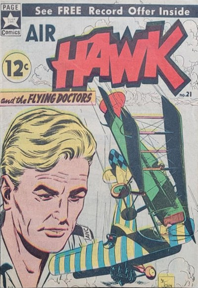 Air Hawk and the Flying Doctors (Yaffa/Page, 1966 series) #21 ([March 1966?])